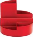Maul Organisateur de bureau Roundbox, rouge