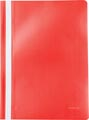 Pergamy farde à devis, ft A4, PP, paquet de 5 pièces, rouge